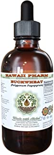Buckwheat Alcohol-FREE Liquid Extract, Buckwheat (Fagopyrum Esculentum) Dried Sprouting Seed Glycerite Hawaii Pharm Natural Herbal Supplement 2 oz