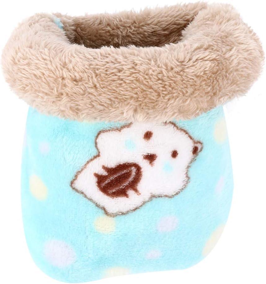 TEHAUX Pet Sleeping Bag Fleece Ranking TOP17 Portable C Hamster Max 83% OFF Winter Bed