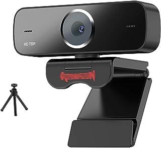 غطاء كاميرا الويب USB HD Webcam With Built-in Microphone For Smart 1280 X 720P 30fps Webcam For Desktop PC Gaming كاميرا و...