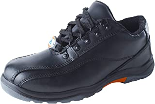 ACME Radian Leather Safety Shoes Black (Size - ACME004_42)