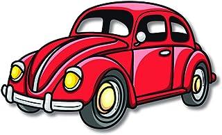Bhai Please Beetle Vintage Car Wooden Fridge Magnet