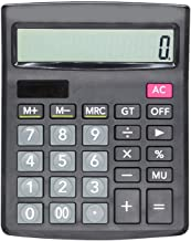 $26 » Calculator, 12-Digit Digital Display in Office, Standard Function Scientific Electronic Calculator, Solar and Battery Dual...