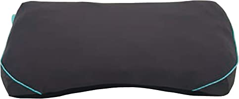 西川 [エアー] 枕 52X33cm 空気で高さ調整 ワンタッチ モバイル 持ち運び エアー AiR ブラック EH97125016M