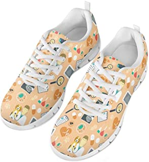 chaqlin Baskets Mode Chaussures de Sport Femme Running Léger Respirantes Course Sneakers Multisports Outdoor Casual des Ch...