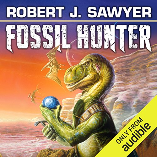 Fossil Hunter audiobook cover art