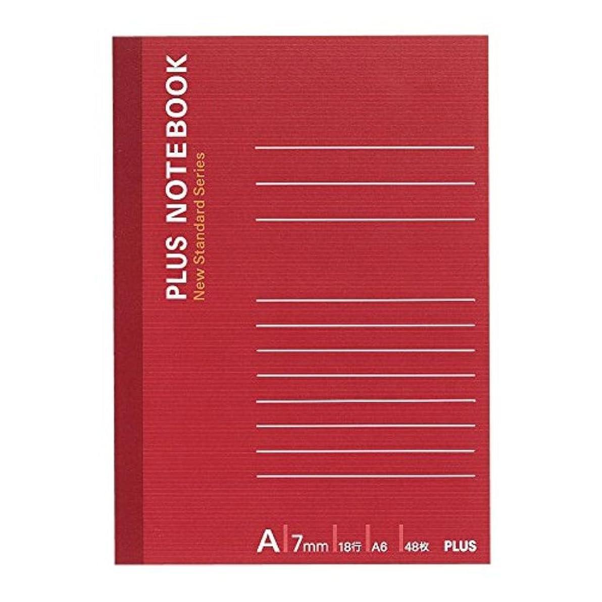 参加するセラフ寮(まとめ買い)プラス ノートブック NO-405AS A6 A罫 【×50セット】