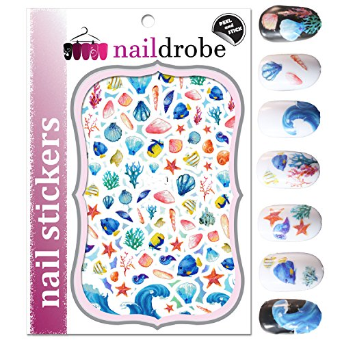 Naildrobe Under the Sea Nail Stickers