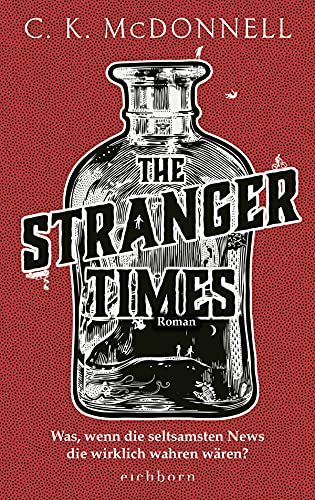 Buchseite und Rezensionen zu 'The Stranger Times' von Caimh McDonnell