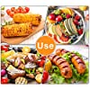 AUGSUN 18 Pcs Stainless Steel Corn Cob Holders with Silicone Handle & Convenient Butter Spreading Tool #4