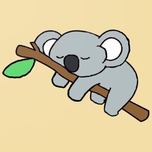 Nope Not Today Lazy Sleeping Koala Bear Sleep Nap Late Riser Maglietta