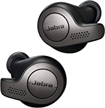 Jabra Elite 65t Alexa Enabled True Wireless Earbuds with Charging Case (Titanium Black)