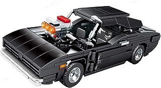 QRFDAIN Daoqi byggkloss barnsportbil, pojkar ABS pusselmontering 449 liten partikelbyggstensmodell leksaksbil med simulera...