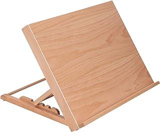 Chevalet de table réglable en bois pour étudiant, artiste pliable, planche à dessin, esquisse, peinture, présentation, fou...