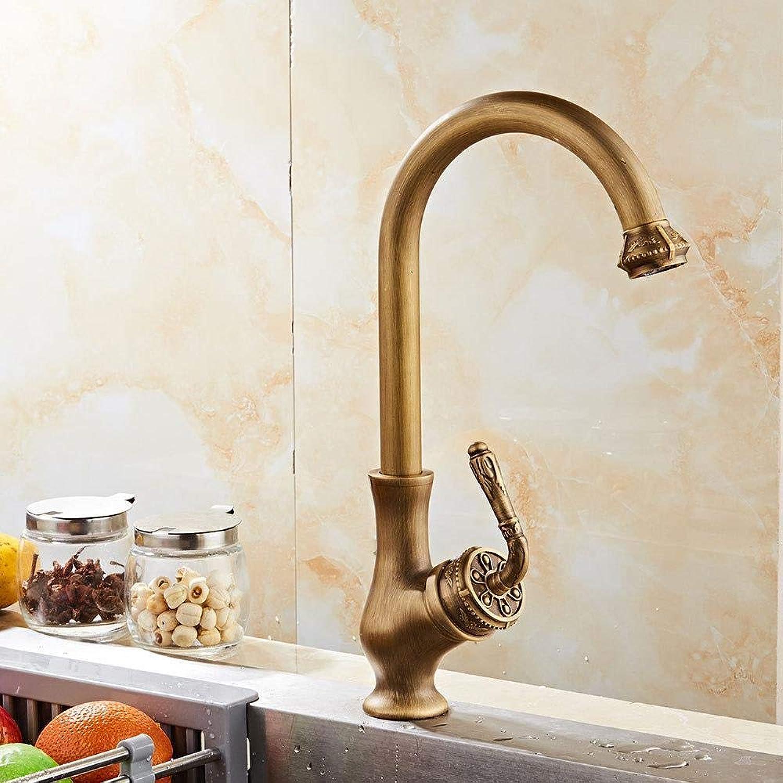 Wasserhhne Waschtischarmaturen Küchenarmatur Antike Rotierende Spüle Wasserhahn Retro Spüle Hei Und Kalt Wasserhahn