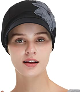 Bamboo Fashion Hat for Woman Daily Use with Brim Visor, Hats for Cancer Chemo Patients Women