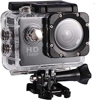 FastUU Mini cámara de acción, 7 Colores 1080P HD 30m Cámara Deportiva submarina Impermeable DV, cámara de Video Digital co...