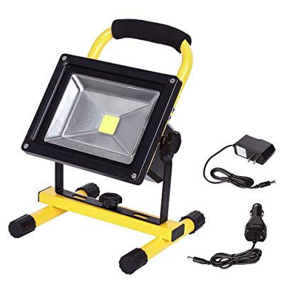 LTE LED Rechargeable Work Light 20W 1600LM Port...