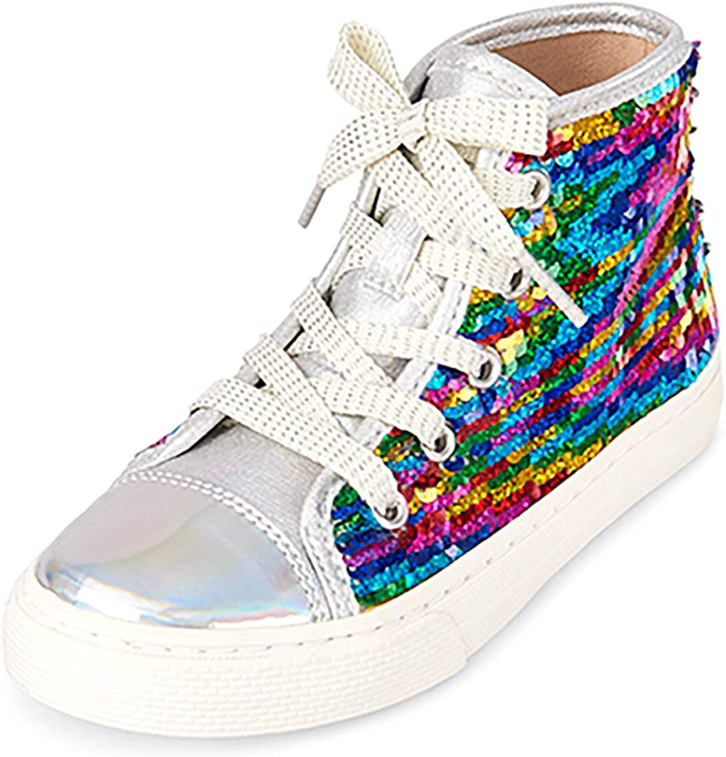 The Latest item Children's Place Baby-Girl's Fashion Cheap super special price Multi Yo Sneakers Clr