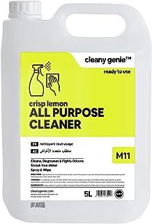 Cleany Genie, All Purpose Cleaner, Crisp Lemon, 5 Litres