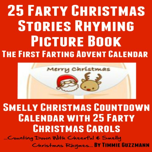25 Farty Christmas Stories Rhyming Picture Book audiobook cover art