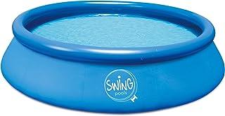 Ambientehome Quick Up Easy Piscina sobre Suelo, Azul, 457x 457x 122cm, 14159L, 26022