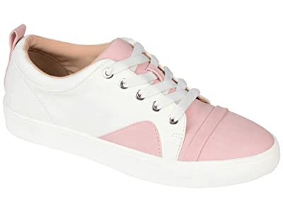 Journee Collection Comfort Foam Kyndra Sneakers (Pink) Women