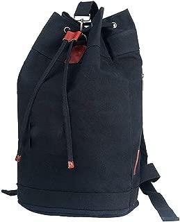 SAIPULIN Travel Laptop Backpack Water Resistant Laptop Laptops/Anti-Theft Travel Backpack Laptop Backpack Leisure Sports Backpack Student Bag Fashion Trend Backpack (Color : Black)
