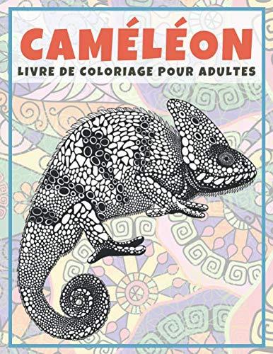 Caméléon - Livre de coloriage pour adultes
