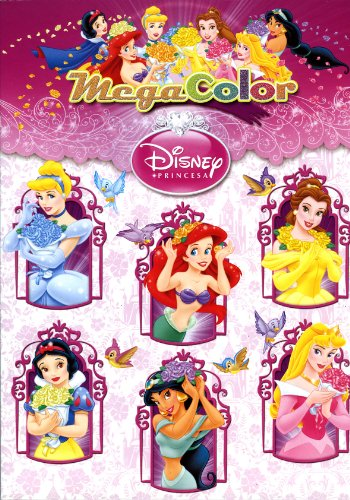 Megacolor Princesas (Disney. Princesas)