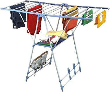 HOMACE Stainless Steel Foldable Cloth Dryer Stand Drying Rack For Home And Balcony - Winsome