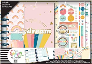 Me & My Big Ideas BOX211 Happy 12-Month Dated Medium Planner Box Kit-70, 70's Vibe, Student, Aug 2019-Jul 2020