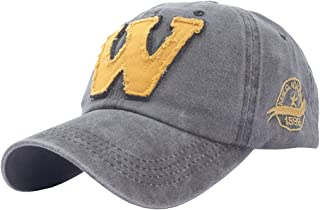 Perlotus Şapka,Cap Şapka,Erkek Kadın Şapka,W Şapka,Gri Sarı