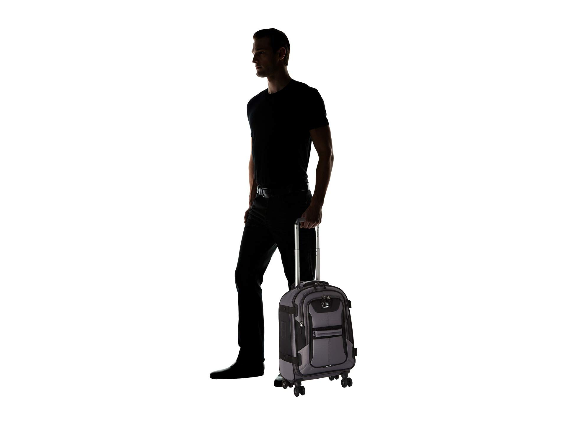 Travelpro Expandable Gray black By Bold 21