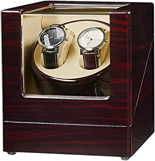 Double Watch Winder with Quiet Japanese Mabuchi Motor