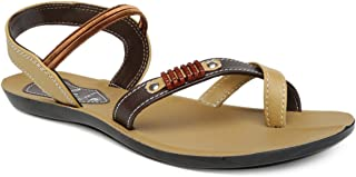 PARAGON SOLEA Women's Brown Sandals