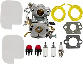 Dalom C1M-W26 Carburetor w Tune Up Kit Air Filter for Poulan P3314 P3416 P3816 P3818 P4018 Pro PP3416 PP3516 PP3816 PP4018 PPB3416 PPB4018 PPB4218 S1970 Gas Chainsaw 545070601
