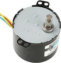 50KTYZ AC 220V 6-10w Miniatuur Permanente Magneet Synchrone Motor CW/CCW Lage Snelheid Hoge Koppel Elektrische Motor (15 RPM)