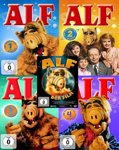 ALF - Die komplette Serie 1-4 + ALF der Film