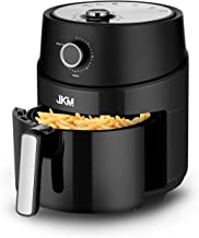 JKM Air Fryer Oven 3.7 Quart, Multifunction Cooking Machine,15 E-Recipes, Adjustable Timer&Temp, No Oily Smoke Frying Cook...