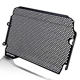 MT07 Motorcycle Radiator Grille Guard Protector Cover Aluminum Alloy for Yamaha MT07 MT-07 MT 07 2018 2019 2020 2021(Black)