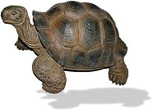 Real Life Vivid Arts tortuga gigante, resina ornamento (Tamaño grande)