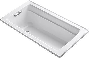 Kohler Archer Acrylic Rectangular Drop-In Bathtub