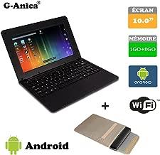 """G-Anica Ordenador portátil de 10.1""""(WiFi, 1.5GHz 1GB"""