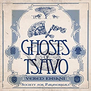 Ghosts of Tsavo audiobook cover art