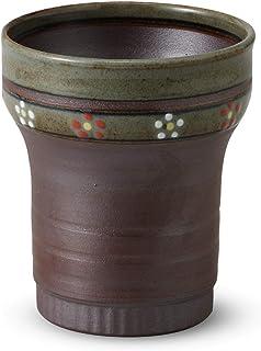 有田焼 保温・保冷効果を持つ二重構造 焼締梅紋 焼酎カップ(270cc)