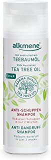 alkmene Teebaumöl Anti Schuppen Shampoo - Reduziert Schuppen in nur zwei Wochen - veganes Haarshampoo ohne Silikone, Parabene & Mineralöl - Antischuppen Shampoo 1x 200 ml
