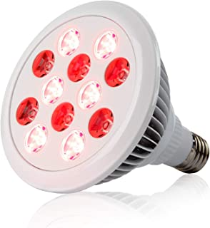 24W Red Light Therapy Lamp Bulbs 660nm Red 850nm Near Infrared Light Therapy Device for Muscle,Skin, Pain Relief