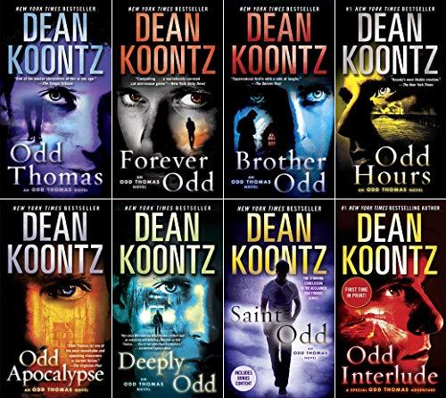 8 book set of Odd Thomas (Complete 1-7)...