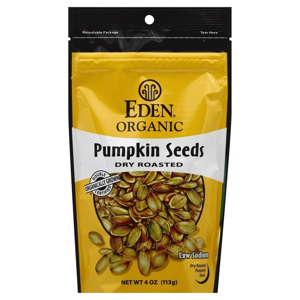 Eden Attention brand Pumpkin Seeds Dry shipfree Roasted Salted OZ Pack 12 of 4.0