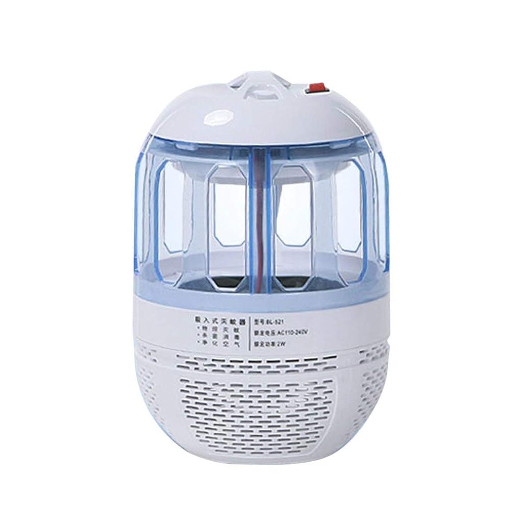 暴徒デイジー確保するSaikogoods 超静音電子モスキートキラー光触媒ライトバグ昆虫キャッチャーUSB電源非放射線モスキートトラップ 白